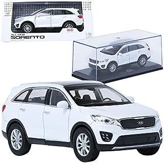 TreForze 1:38 KIA ALL NEW SORENTO White Display Mini Car Miniature Car