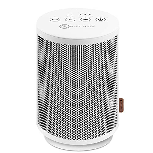 MYCARBON Heater Ceramic Space Heater Quiet 1500W Electric Fast Heating...