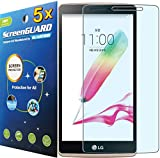 """5X LG G Stylo Stylus G4 4G LTE LS770 H631 w/5.7"""" LCD Premium Clear LCD Screen Protector Guard Kit (5 Pieces by GUARMOR)"""