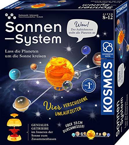KOSMOS 671532 Sonnensystem, Lass die Planeten um die Sonne kreisen, mechanisches Modell, Experimentierkasten für Kinder ab 8 - 12 Jahre zu Astronomie, Weltall