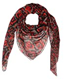 Accessories First Graphic Square Womens Polyester Printed Scarf