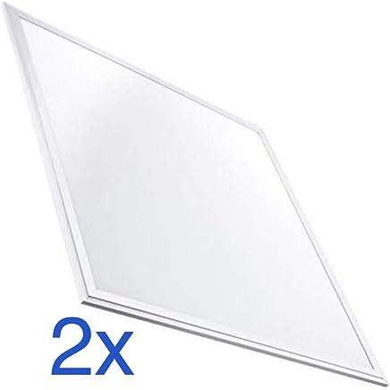 Led Atomant Panel Led 40 W, 3000 Lm, Blanco Frio, 6000K, 60 x 60 cm, Pack de 2