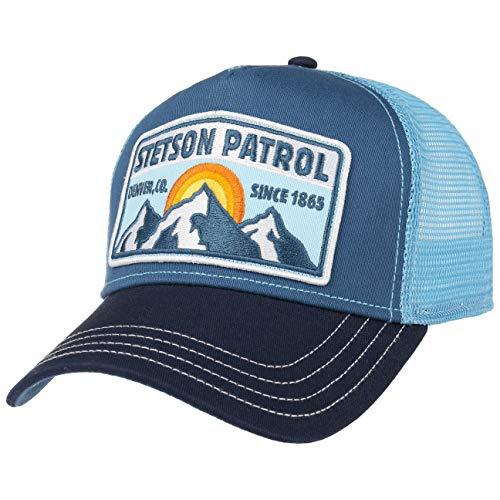 Stetson Gorra Trucker Patrol Mujer/Hombre - Snapback, con Visera, Visera Verano/Invierno -...