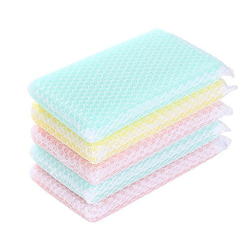 FaSoLa Magic Durable Kitchen Cleaning Sponge (Multicolor Pack of 15)