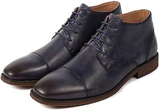 Amazon.es: botas hombre punta cuadrada: Zapatos y complementos