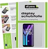 dipos I 2X Schutzfolie matt kompatibel mit Huawei Y6 (2018) Folie Bildschirmschutzfolie