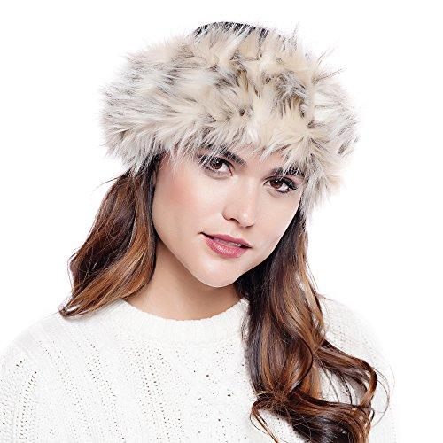 Donna Salyers Fabulous Furs Halo (Arctic Leopard)