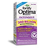 Nature's Way Fortify Optima Intensive Daily Probiotic, 200 Billion, Researched Strains, 30 Capsules