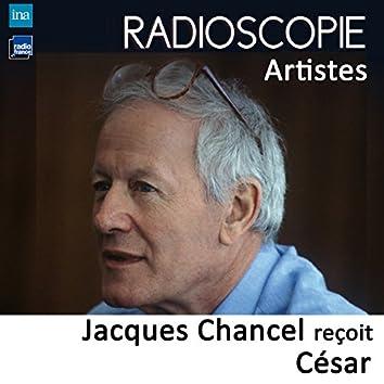 Radioscopie (Artistes): Jacques Chancel reçoit César