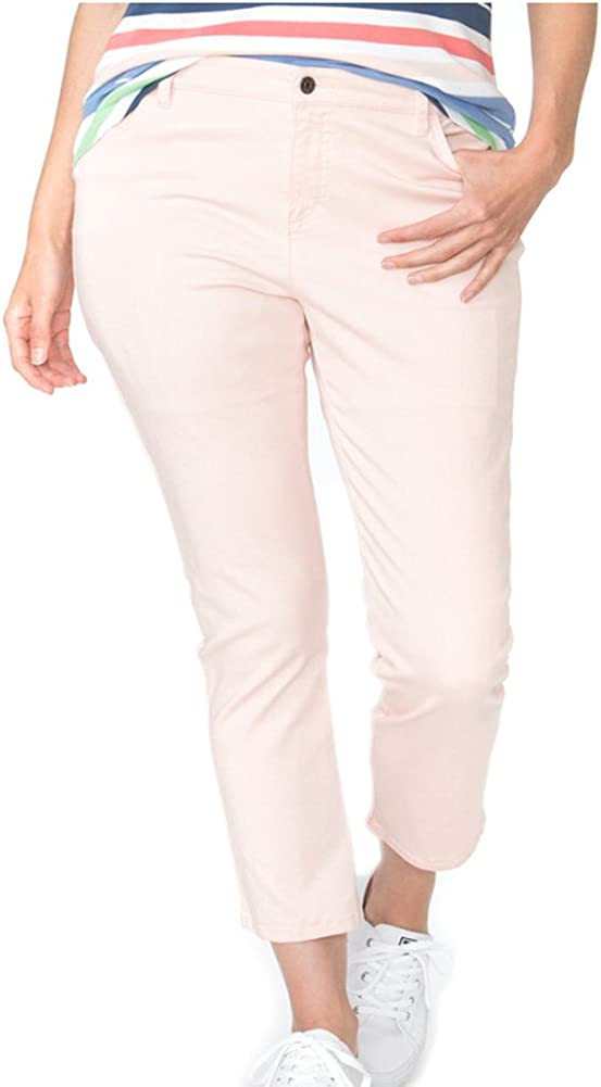 Chaps Women's Madden Slimming Fit Cropped Pant