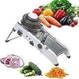 Gemüsehobel Gemüsehobel Edelstahl Gemüsehobel Julienner mit integrierten Klingen, Schneider für Kartoffeln, Tomaten, Zwiebeln, Käse, Gurken etc.