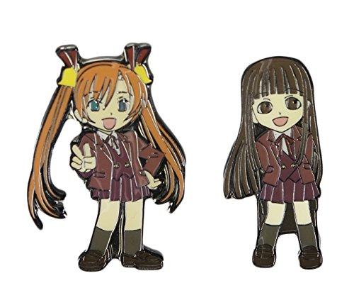 Negima Asuna & Konoka Pin Set