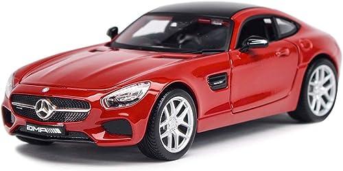 JIANPING Modèle de Voiture 1 24 Mercedes Benz AMG GT Alliage de Simulation de Moulage sous Pression Jouet OrneHommests Collection de Voitures de Sport Bijoux 19 x 9 x 5,8 cm Modèle de Voiture