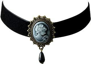 victorian portrait necklace