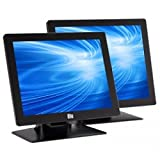 Elo 1717L 17' iTouch Touch Screen Monitor, Serial and USB Interface, Zero Bezel, Black . . . (151067)
