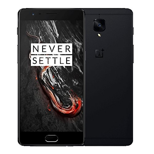 OnePlus 3T A3010 6GB+128GB 5.5 Inch 2.5D Arc Hydrogen OS 2.5 Android 6.0 Qualcomm Snapdragon 821 Quad Core up to 2.35GHz WCDMA & GSM & FDD-LTE (Black)