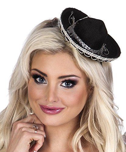 Boland BOL54419 Mini Sombrero für Damen