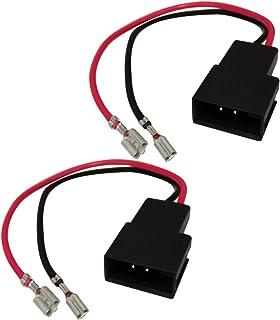 Aerzetix: 2 Kabel   Anschlüsse für Lautsprecher