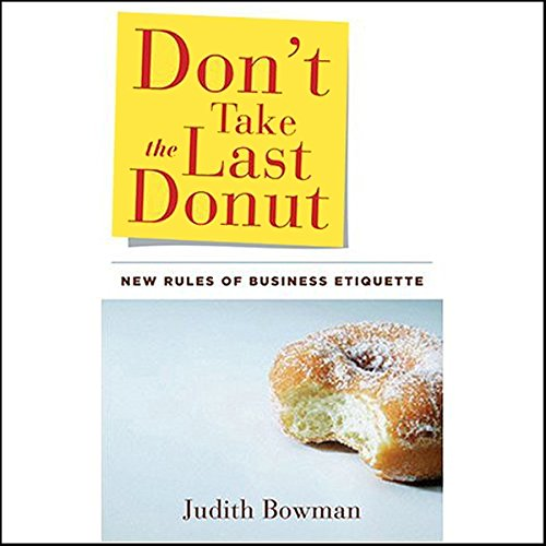 Don't Take the Last Donut audiobook cover art