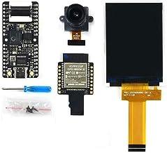 pzsmocn Artificial Intelligence IoT Development Kit,Maix bit AIoT Kit Contain Maix bit Main Unit,bit WiFi (ESP32),OV2640 Camera,2.4inch TFT Display,Double-Row Pin Interface Design Small Size.
