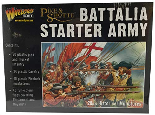 Warlord Games Battalia Starter Army Box (80 Inf, 24 CAV, 10 Firelocks)