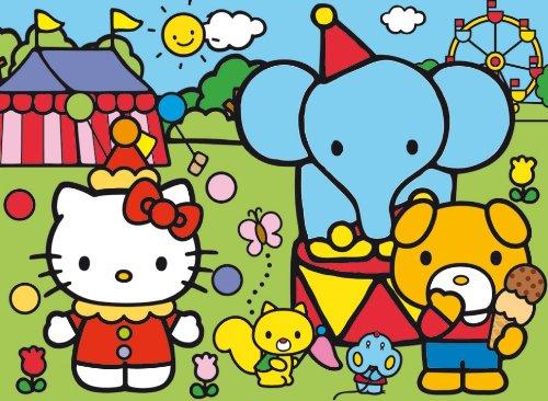 Clementoni - 23616 - Puzzle Happy Color Hello Kitty Circus