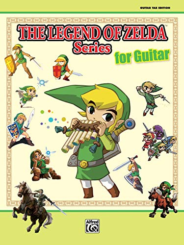The Legend of Zelda Series for Guitar: Guitar Tab