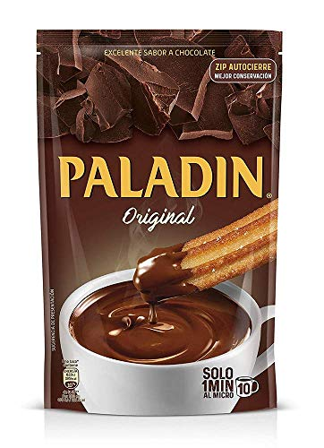 Paladin Original Chocolate Caliente Grueso A la Taza Like a Pudding Mix Ready in a Minute 12 oz (340 gr) 1 Pack