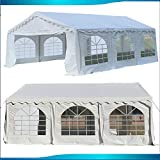 DELTA Canopies Budget PVC Party Tent Canopy Shelter 20'x20' - White