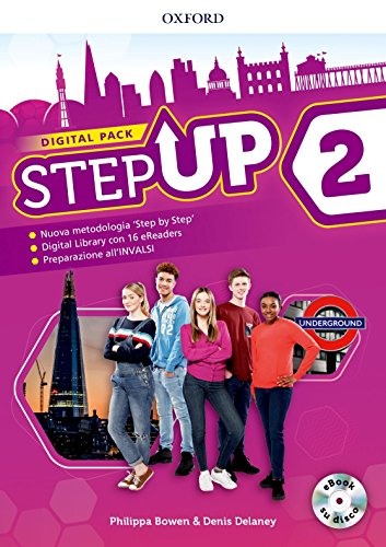 Step up. Student's book-Workbook. Con Studyapp, Mind map, 16 eread, hub. Per la Scuola media. Con ebook. Con espansione online. Con DVD-ROM [Lingua inglese]: 2