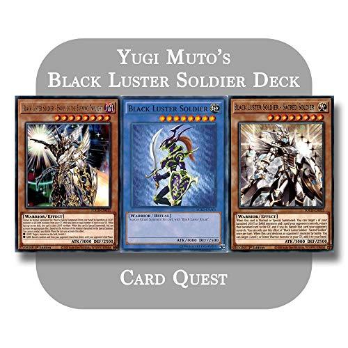 Yu-Gi-Oh! - Yugi Muto's Complete Black Luster Soldier Deck