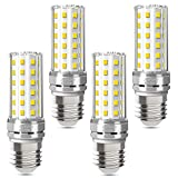 E27 LED Lampen 12W 1450LM 4000K Neutralweiß LED E27 Mais Lampen Birnen Maiskolben Entspricht Glühbirnen 100W Nicht Dimmbar Energiesparlampe Kleine Edison-Schraube Kerze Leuchtmittel -4er Pack