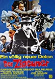 Alain Delon: Der Zigeuner (1975) | original Filmplakat,