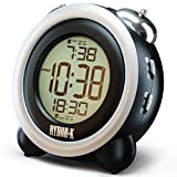 Loud Alarm Clock for Heavy Sleepers - Simple Digital Clock Battery Operated for Hearing Impaired -...
