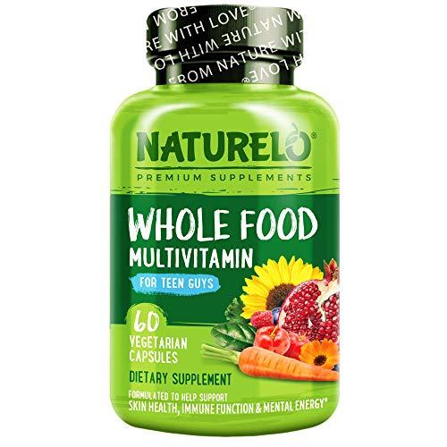 NATURELO Whole Food Multivitamin for Teenage Boys - Vitamins and...