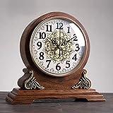 BANNAB Reloj de Manto Reloj de Manto de diseño Antiguo Vintage Cereza con Movimiento de Cuarzo Glockenspiel