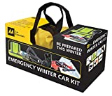 AA Emergency Winter Car Kit Comprehensive in Zipped Canvas Bag