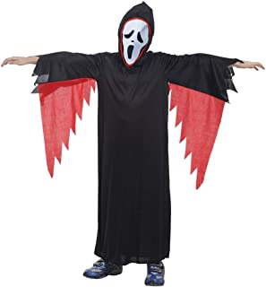 Boys Halloween Costume Kids Skeleton X-Ray Cosplay Child's Dress Up Costumes Party