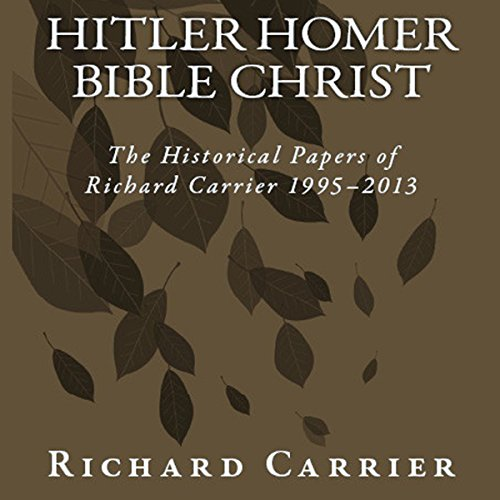 Hitler Homer Bible Christ audiobook cover art