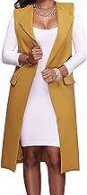 womens long vest jacket