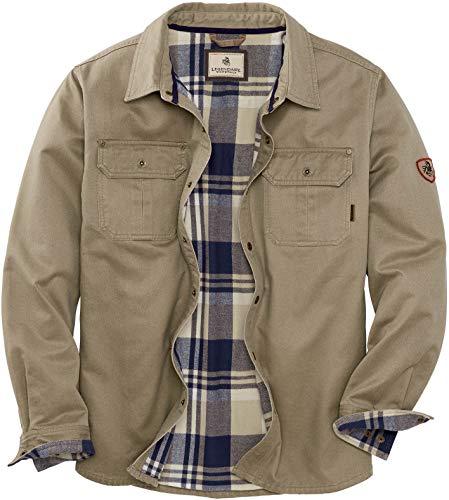 Legendary Whitetails Men's Journeyman Shirt Jacket, Twig, X-Large