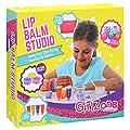 GirlZone: Make Your Own Lip Balm Fun Makeup Set for Girls, 22 Pieces