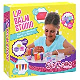 GirlZone: Make Your Own Lip Balm Fun Makeup Set for Girls, 22 Pieces