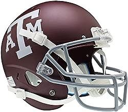 Schutt NCAA Texas A&M Aggies Matte Maroon Replica XP Full Size Helmet