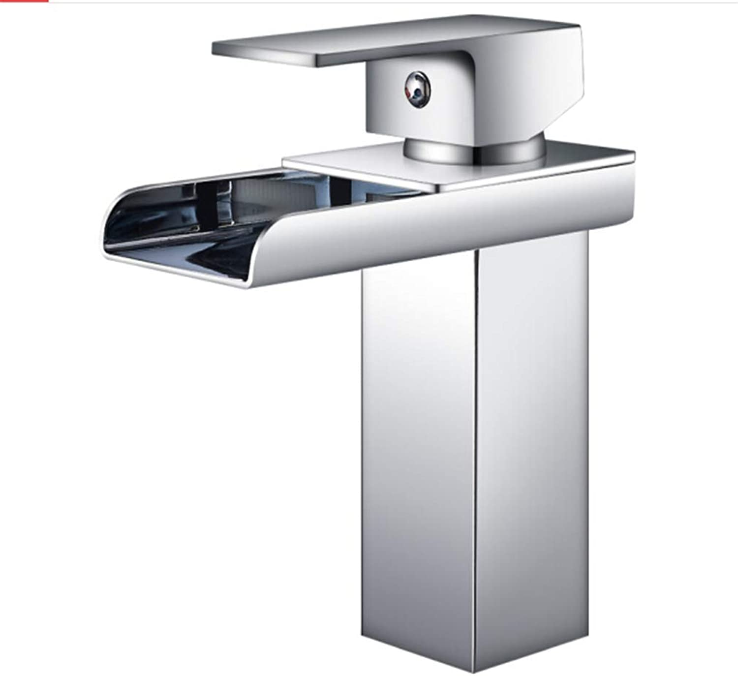 Counter Drinking Designer Archbasin Faucet Hot and Cold Washbasin Faucet Waterfall Type Water Outlet Faucet