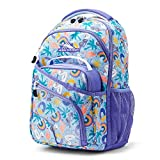 High Sierra Wiggie Lunch Kit Backpack, One Size, Pool Party/Lavender/White