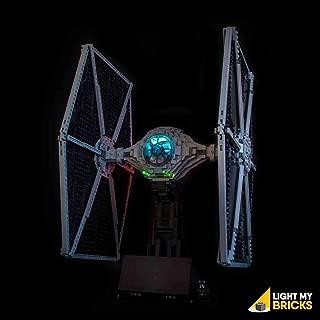 Light My Bricks Lighting KIT for Star Wars UCS TIE Fighter 75095 (Building Set NOT Included)