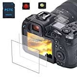 EOS R5 Top + Screen Protector Appliable for Canon R5 Full-Frame Mirrorless Camera (2+2Pack), PCTC...
