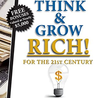 Think & Grow Rich - Mega Audio Pack                   By:                                                                                                                                 Napolean Hill,                                                                                        Jamie McIntyre                               Narrated by:                                                                                                                                 Jai Hutcherson,                                                                                        Bob Hennesy,                                                                                        Jamie Nesvold                      Length: 44 hrs and 45 mins     33 ratings     Overall 3.5