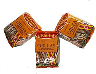 Aldama Mini Obleas Con Cajeta (Milk Candy Waffles) 60 pcs
